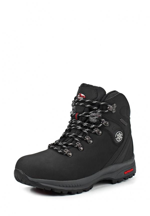 Ботинки трекинговые Strobbs F8080-3 чёрные