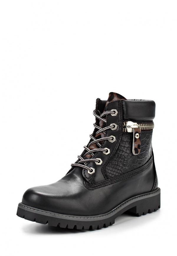 Ботинки Bronx 44095-N-846 чёрные