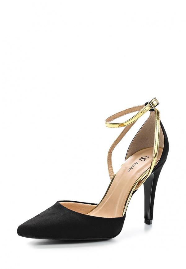 Туфли VELVET 1611629-BMC-01-PP чёрные