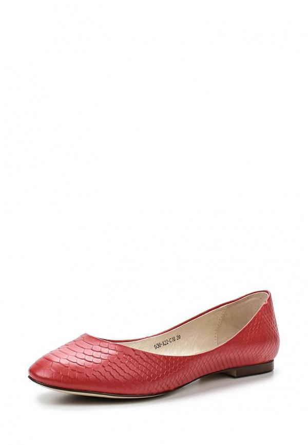 Балетки Covani 938-X22-C16 красные