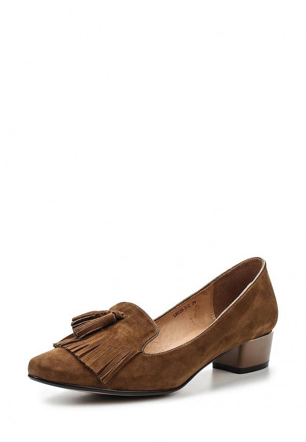 Лоферы Covani L8020-3-C коричневые