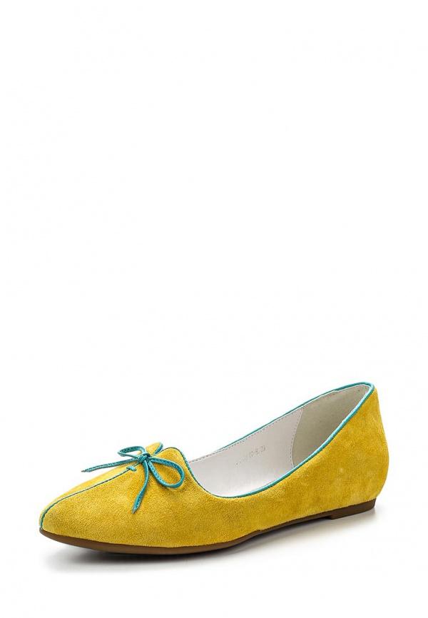 Лоферы Covani ML1363-03-B жёлтые
