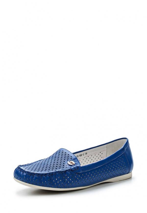 Мокасины Covani 1161B-908-2 синие