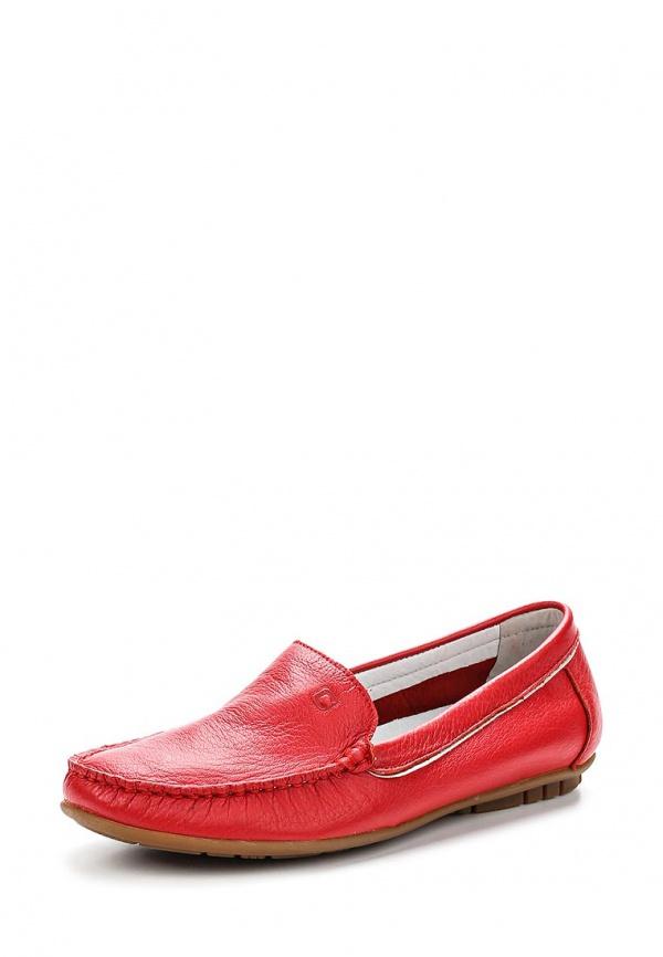 Мокасины Covani 1W801-9-Z красные