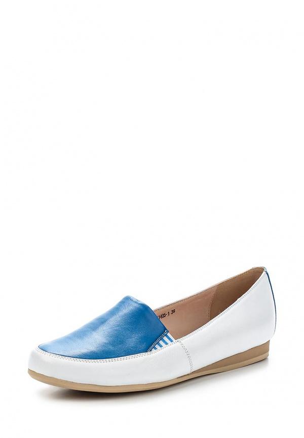 Слипоны Covani X1405-1 белые, синие