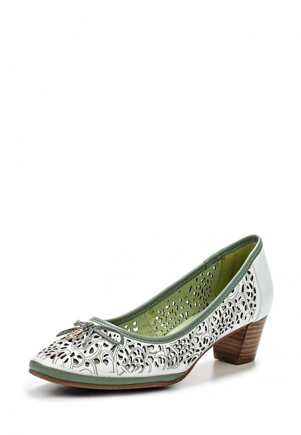 Туфли Covani CVY042-840-B белые