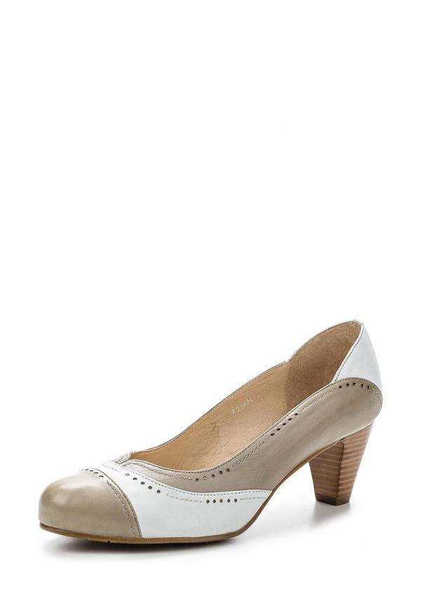 Туфли Covani F2345208 бежевые, белые