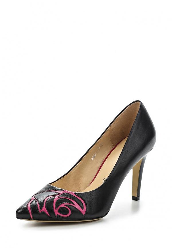 Туфли Covani F3380223 чёрные