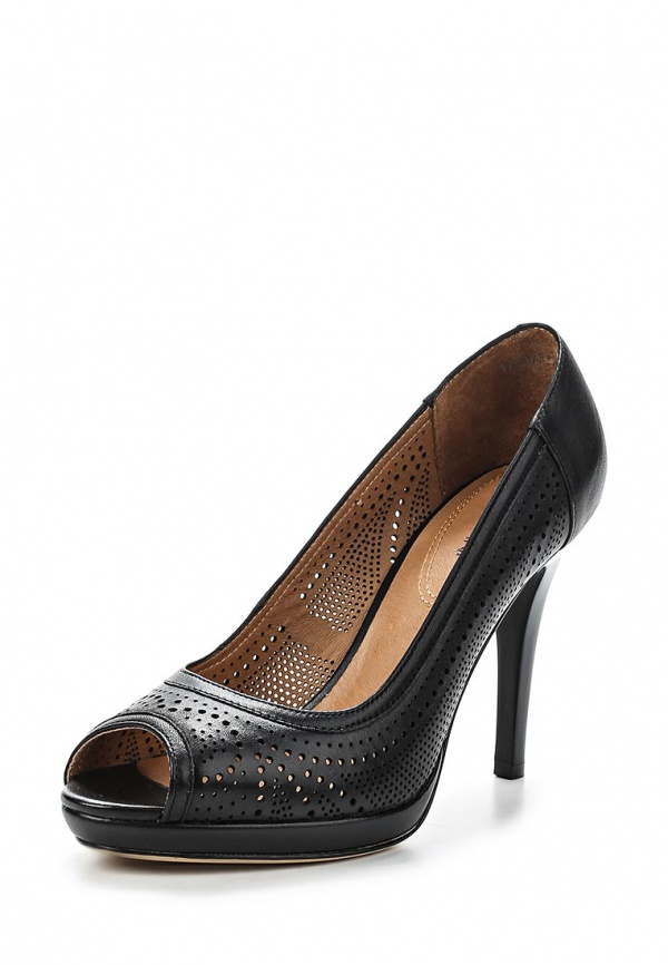 Туфли Covani N3387221 чёрные
