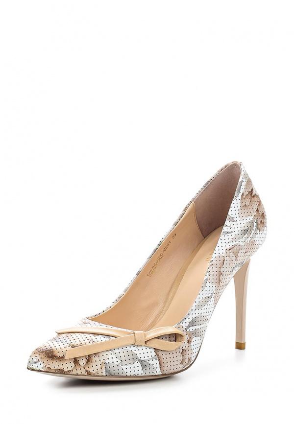 Туфли Covani S2035-569-M281 бежевые