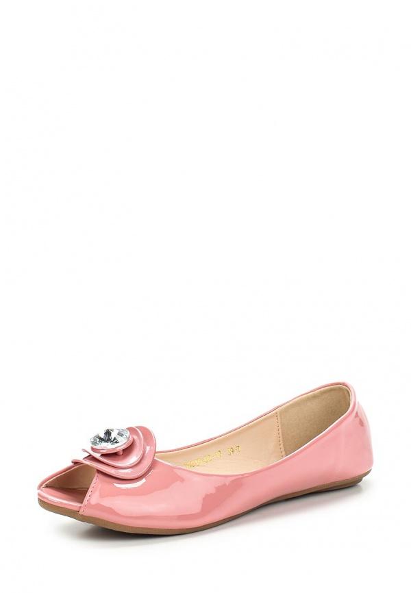 Балетки Inario 15015-02-19 розовые