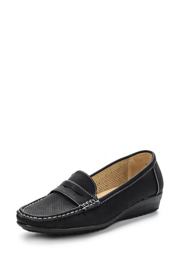 Мокасины Max Shoes 555-43 чёрные
