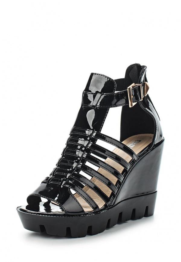 Босоножки Max Shoes M116 чёрные