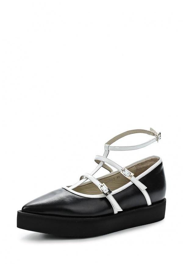 Туфли Roberto Botticelli BX17541 чёрные