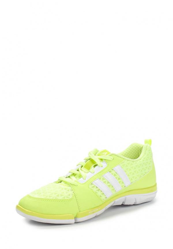 Кроссовки adidas Performance M29519 белые, жёлтые