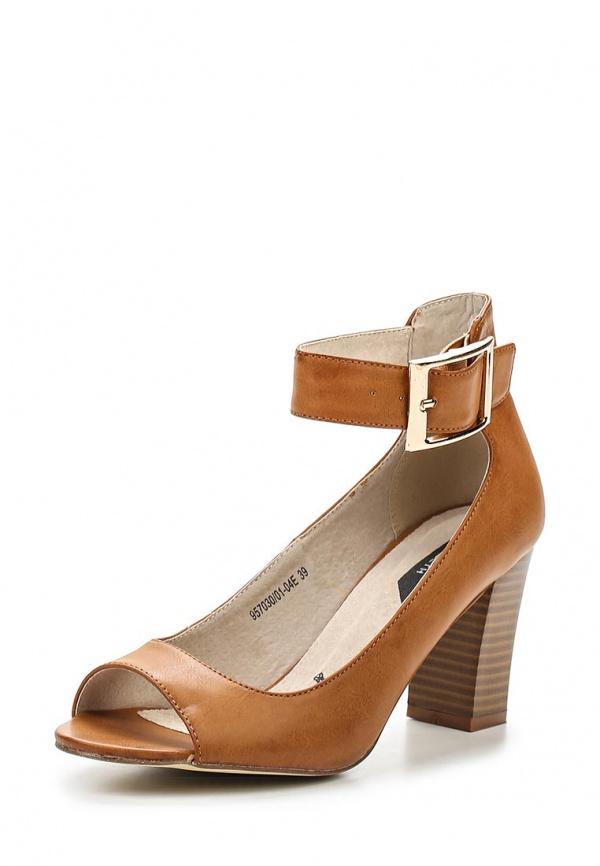 Туфли J&Elisabeth 957030/01-04 коричневые