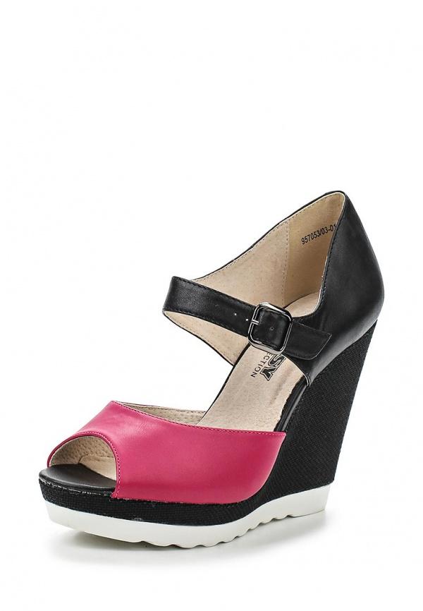 Туфли Betsy 957053/03-01 фуксия, чёрные