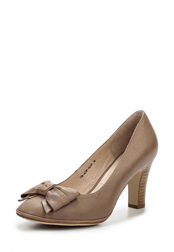 Туфли Covani 158-603P-YA249 бежевые