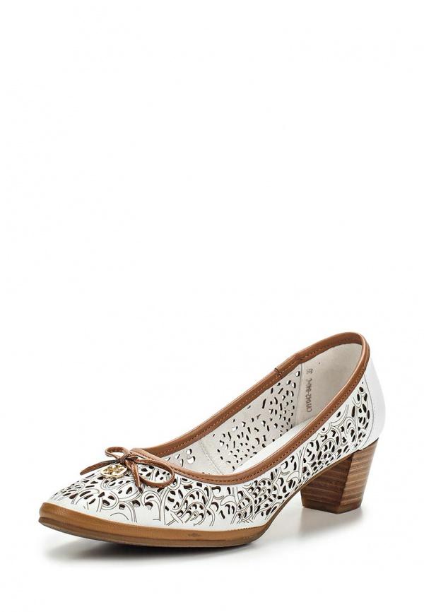 Туфли Covani CVY042-840-C белые