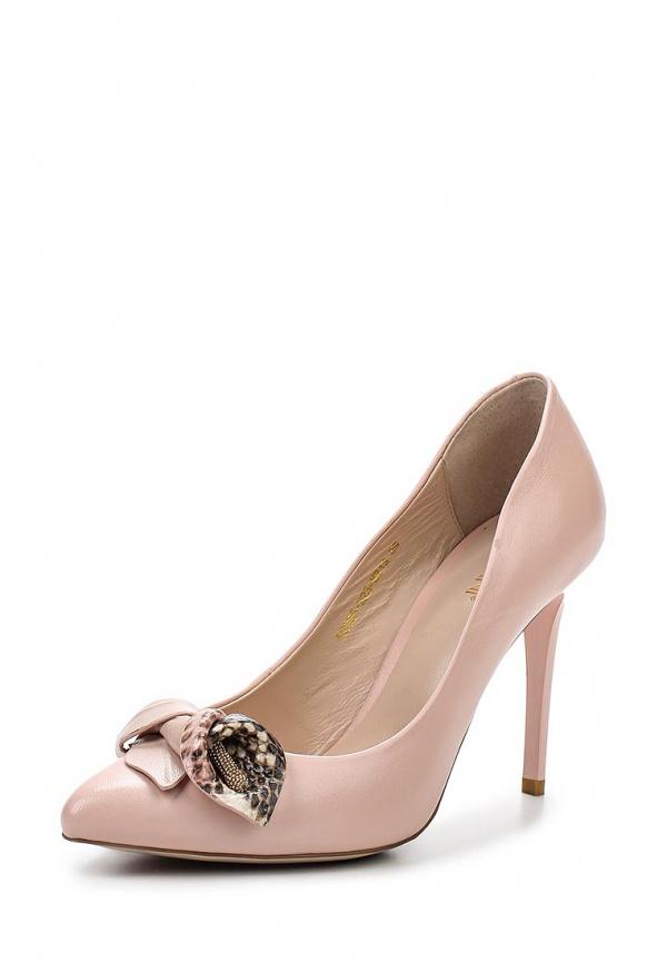 Туфли Covani S2035-223-M313 розовые
