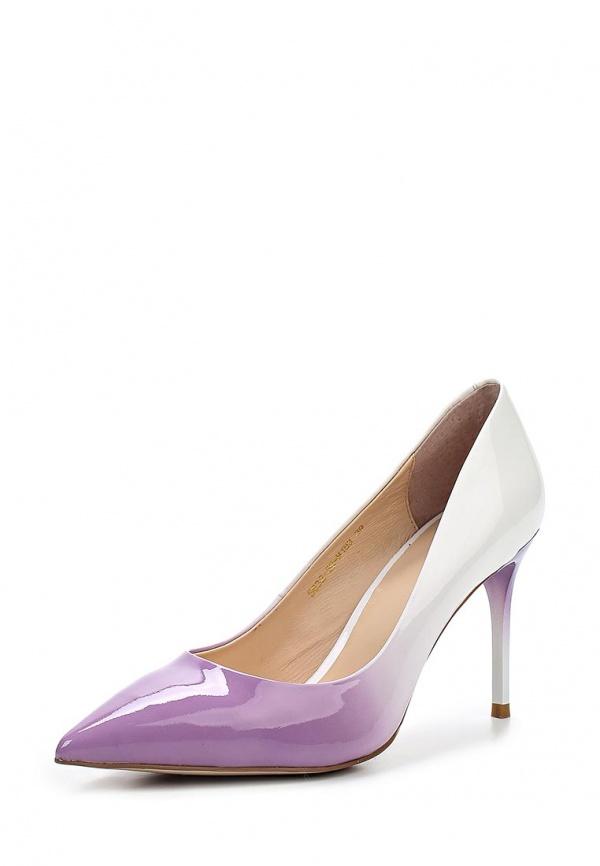 Туфли Covani S632-50-M183 белые, фиолетовые