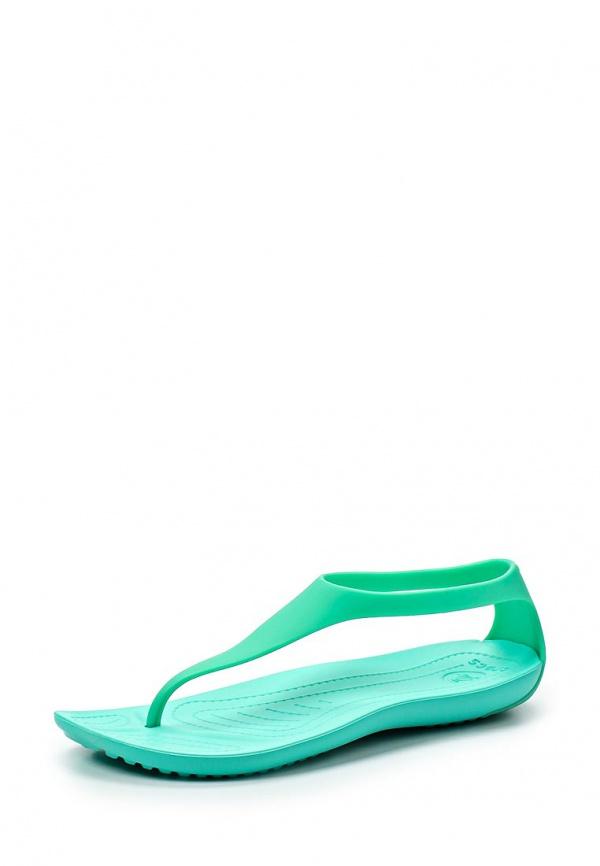 Сланцы Crocs 11354-390 зеленые