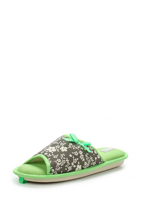 Тапочки De Fonseca FLOR62 зеленые