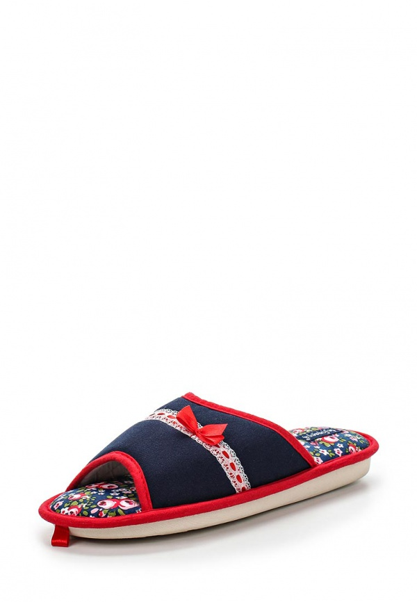 Тапочки De Fonseca MIX62 красные, синие