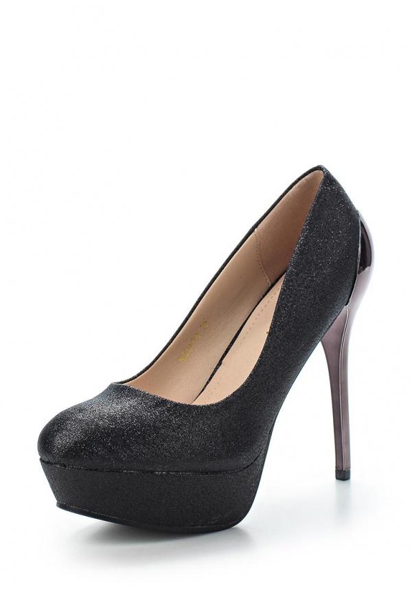 Туфли Exquily SQ5639 чёрные