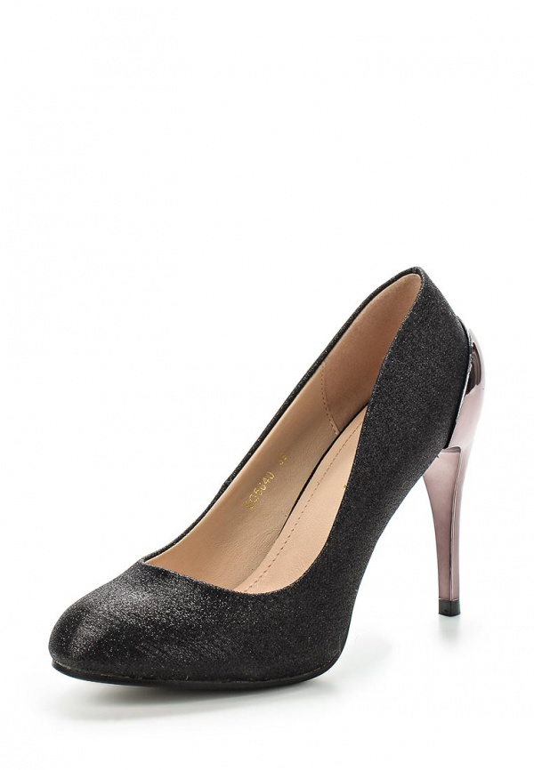 Туфли Exquily SQ5640 чёрные