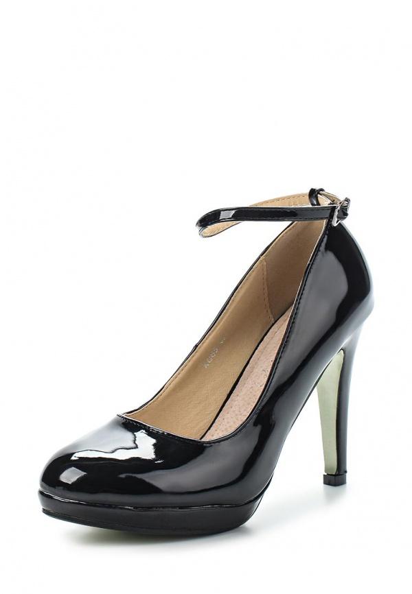 Туфли Exquily XC65 чёрные