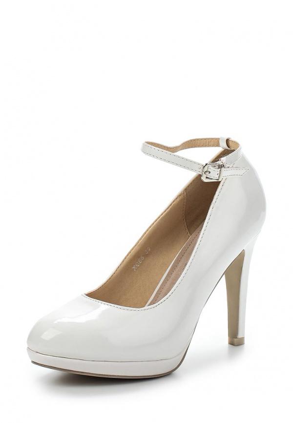 Туфли Exquily XC65 белые