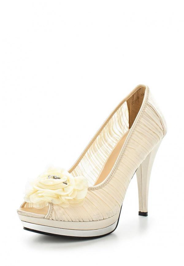 Туфли Exquily SQ5635 бежевые