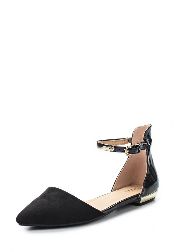 Туфли Exquily KD391 чёрные