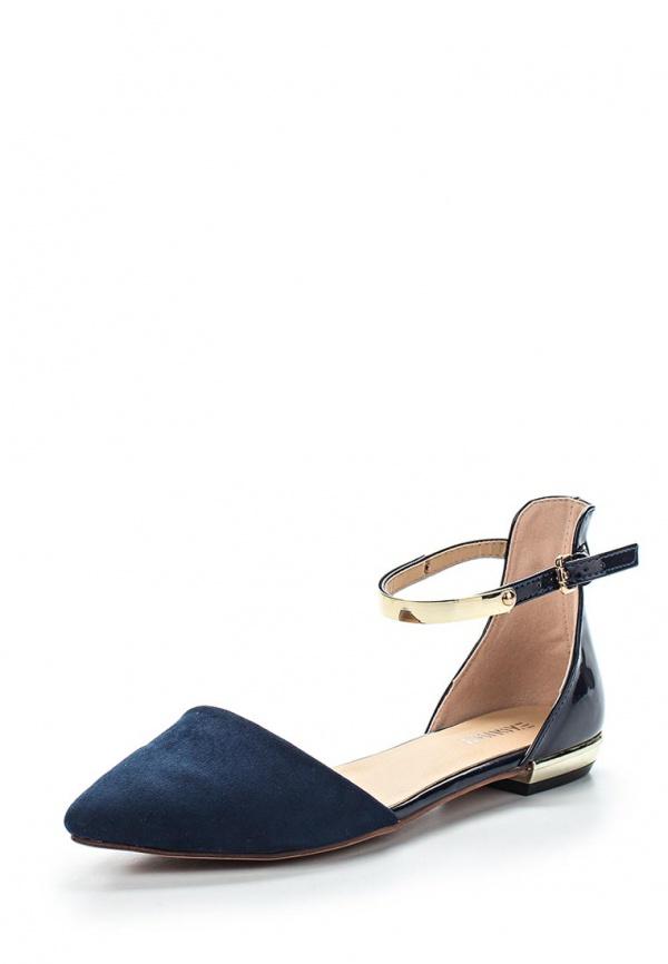 Туфли Exquily KD391 синие