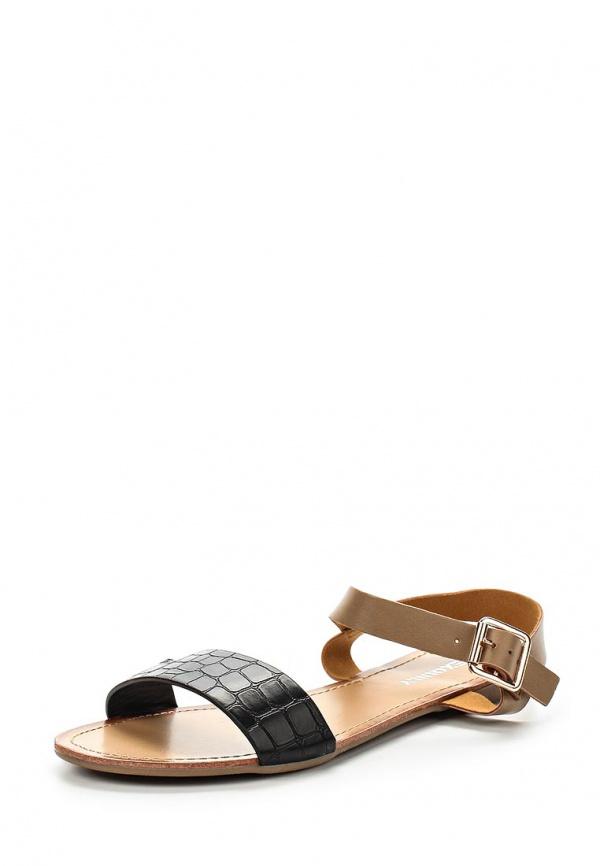 Сандалии Exquily LS64 коричневые, чёрные