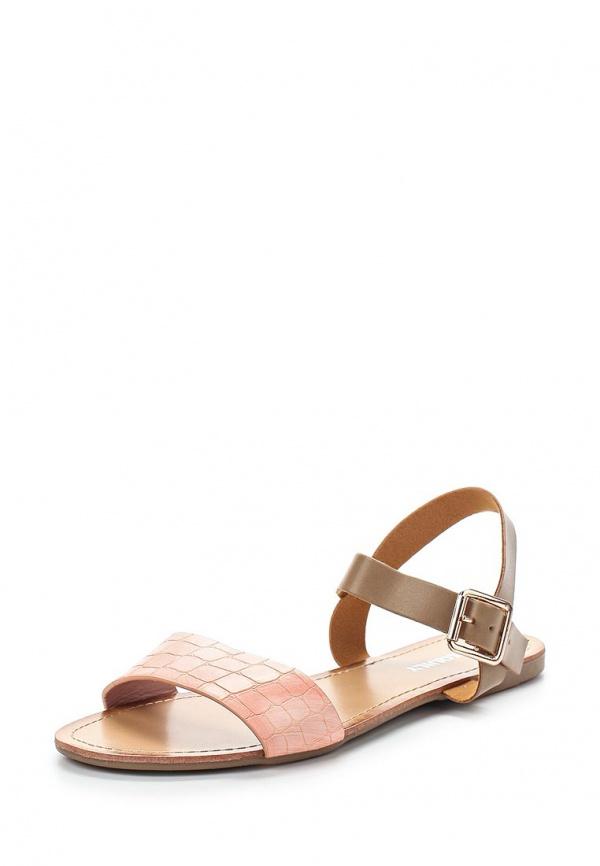 Сандалии Exquily LS64 коричневые, розовые