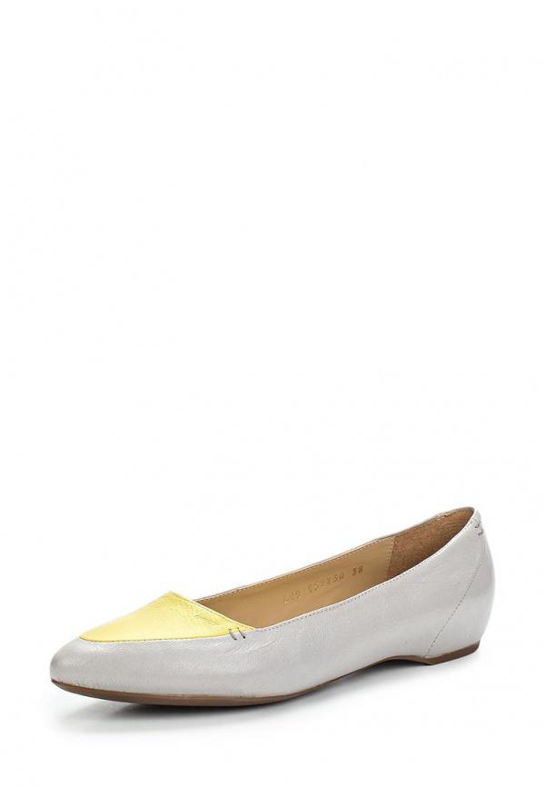 Туфли Geox D52X3A жёлтые, серые