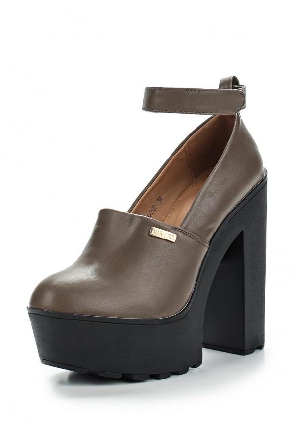 Туфли Ideal SC-2167 коричневые