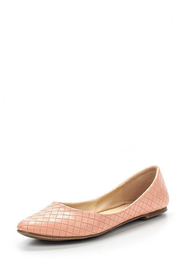 Балетки Inario 15011-01-19 розовые