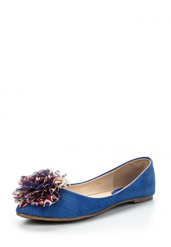 Балетки Inario 15011-02-8 синие