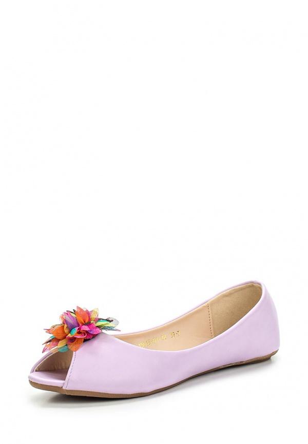 Балетки Inario 15015-01-12 фиолетовые