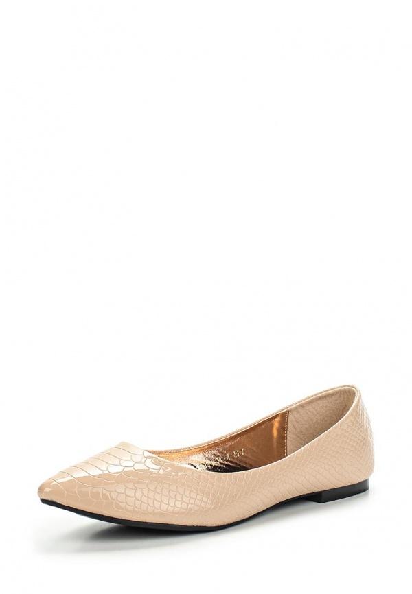 Туфли Inario 15094-01-4 бежевые