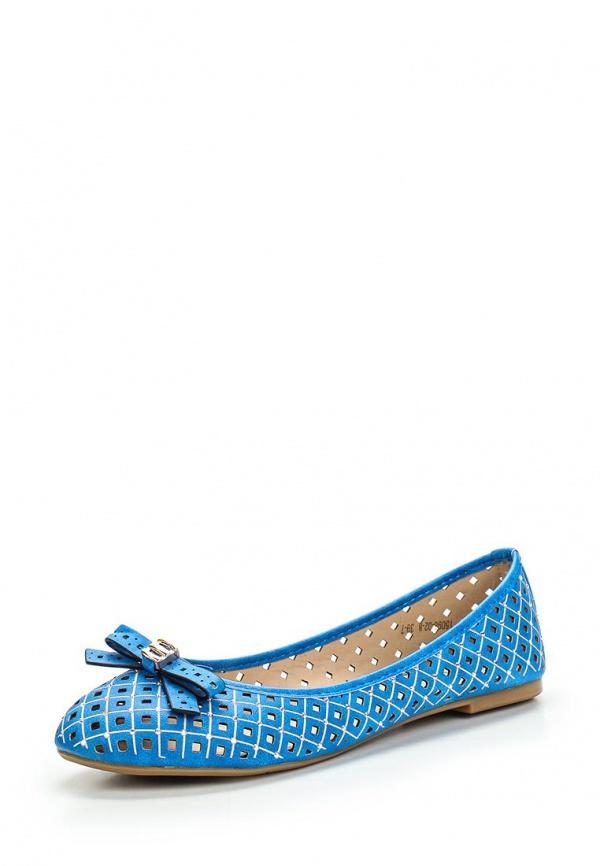 Балетки Inario 15096-02-8 синие