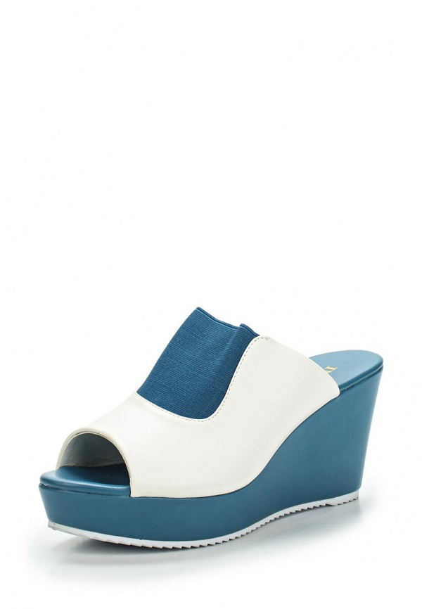 Сабо Inario 15222-01-9 белые, синие