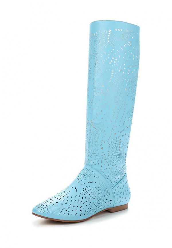 Сапоги Inario 15023-07-9 голубые