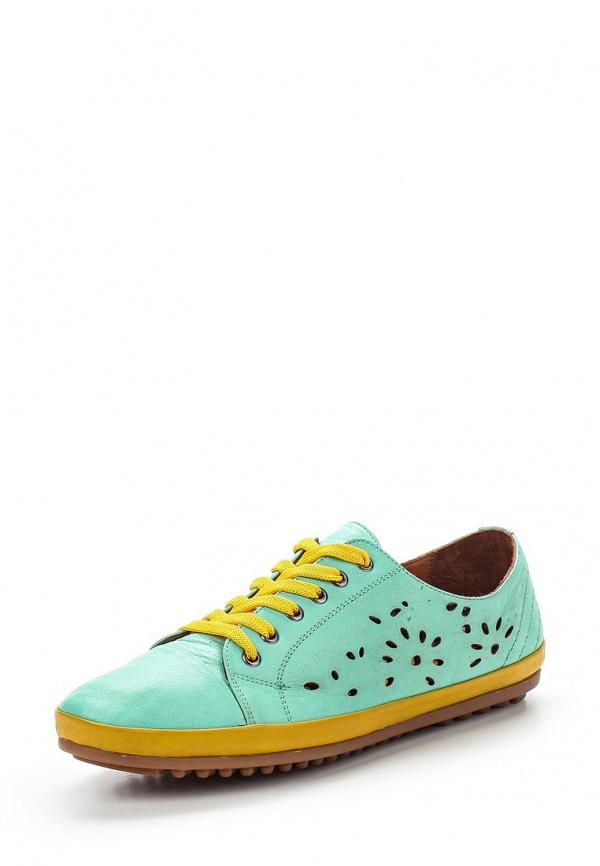 Ботинки Inario 55224020 зеленые