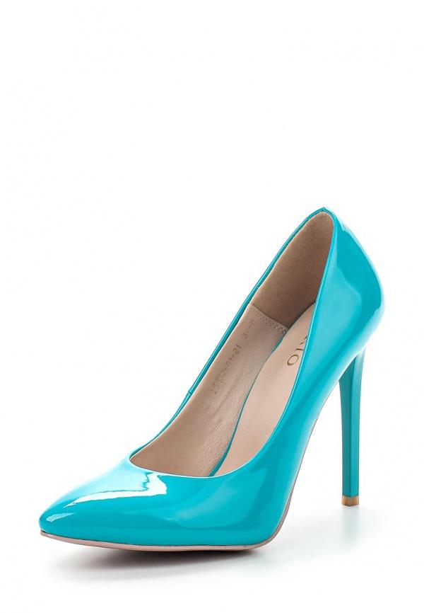 Туфли Inario 15352-01-21 голубые