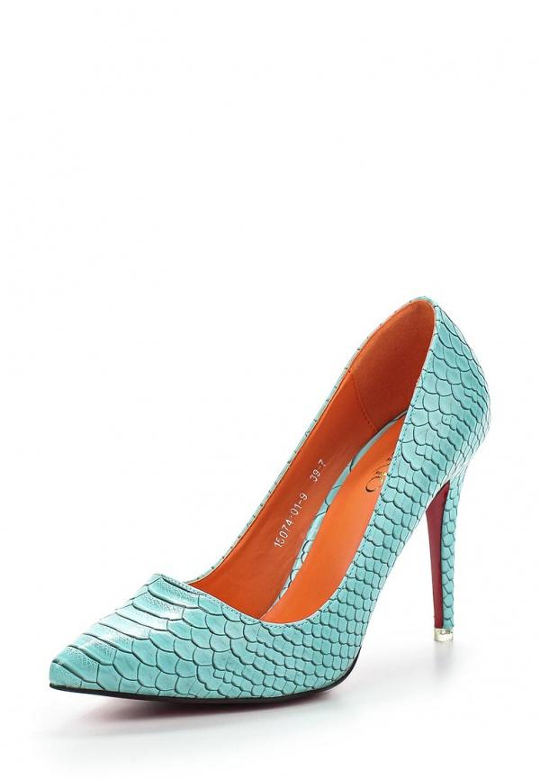 Туфли Inario 15074-01-9 голубые