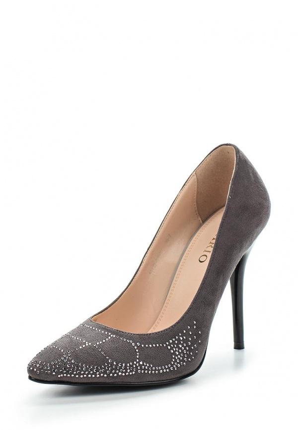 Туфли Inario 15417-01-10 серые